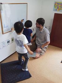 幼稚園生英会話レッスン